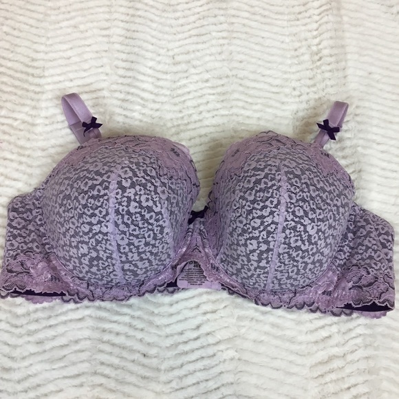 torrid Other - Torrid 46C Purple Lace Demi Bra Padded Underwire